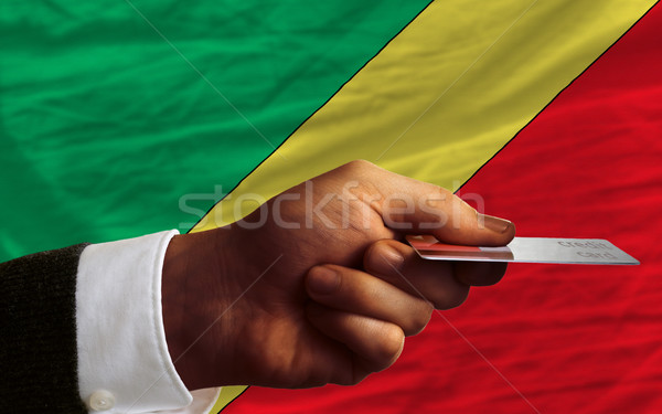 buying with credit card in congo Stock photo © vepar5