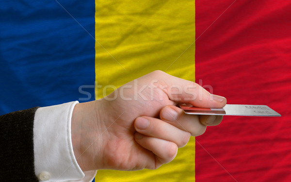 buying with credit card in romania Stock photo © vepar5