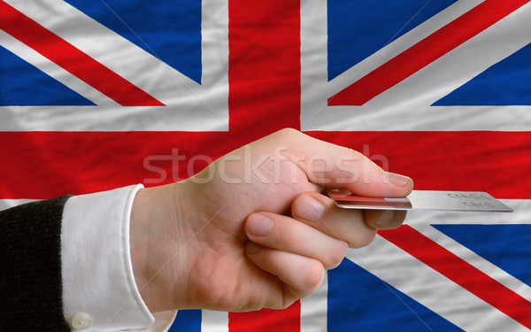 buying with credit card in united kingdom Stock photo © vepar5