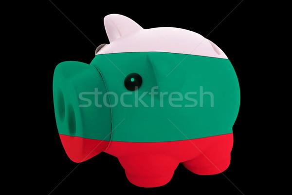 Riche banque couleurs pavillon Bulgarie Photo stock © vepar5