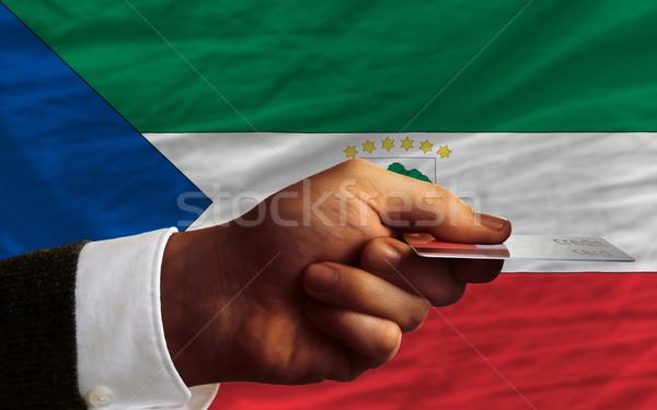 покупке кредитных карт Экваториальная Гвинея человека из Сток-фото © vepar5