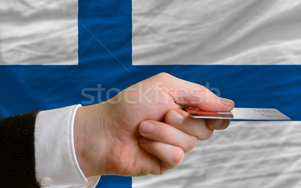 buying with credit card in finland Stock photo © vepar5