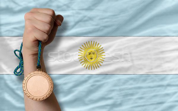 青銅 金メダル スポーツ フラグ アルゼンチン ストックフォト © vepar5