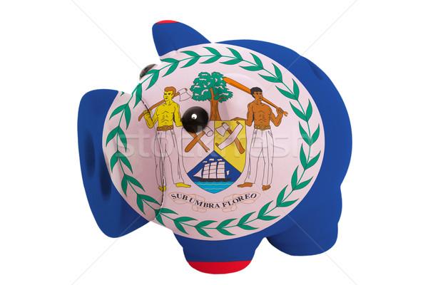 Malac gazdag bank színek zászló Belize Stock fotó © vepar5