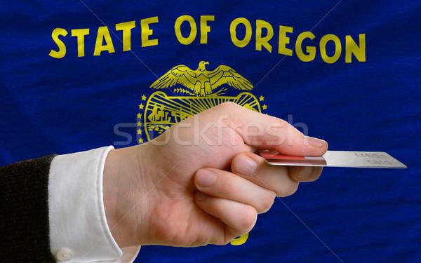 покупке кредитных карт Орегон человека из Сток-фото © vepar5