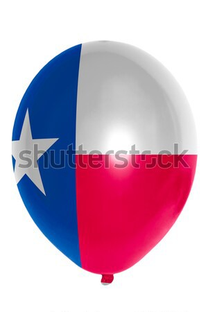 Balloon colored in  flag of american state of texas    Stock photo © vepar5