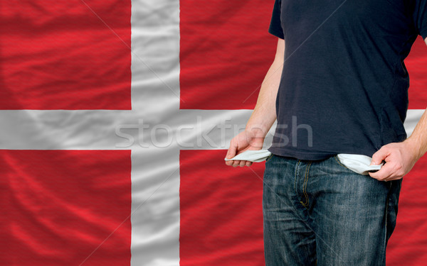 recession impact on young man and society in denmark Stock photo © vepar5
