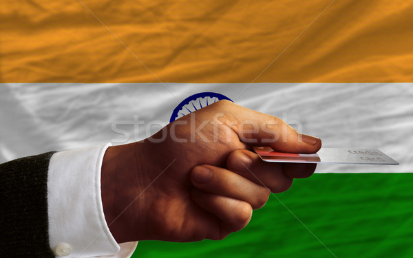 buying with credit card in india Stock photo © vepar5