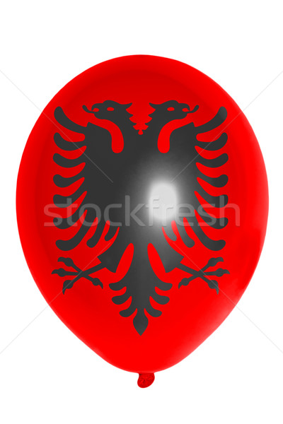 Balloon colored in  national flag of albania    Stock photo © vepar5