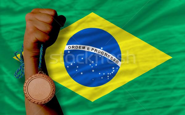 青銅 金メダル スポーツ フラグ ブラジル ストックフォト © vepar5