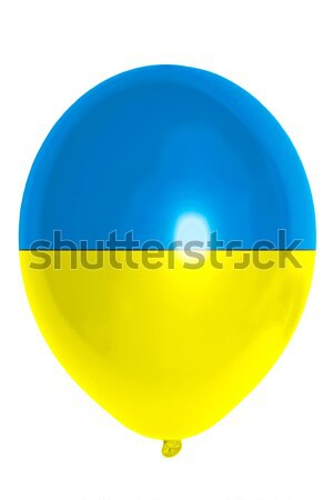 Balloon colored in  national flag of ukraine    Stock photo © vepar5