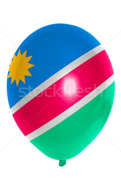 Balloon colored in  national flag of namibia    Stock photo © vepar5