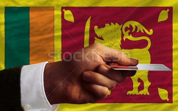 buying with credit card in sri lanka Stock photo © vepar5