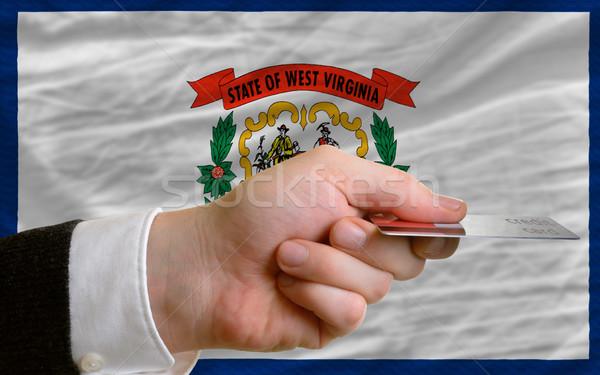 покупке кредитных карт Западная Виргиния человека из Сток-фото © vepar5