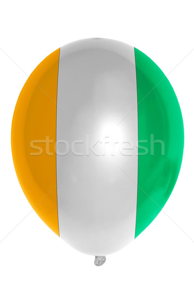 Balloon colored in  national flag of cote ivore    Stock photo © vepar5