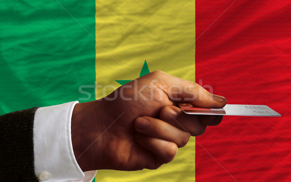 buying with credit card in senegal Stock photo © vepar5