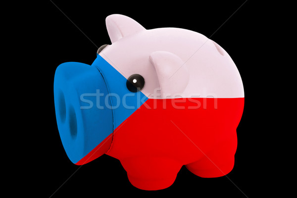 Riche banque couleurs pavillon tchèque Photo stock © vepar5