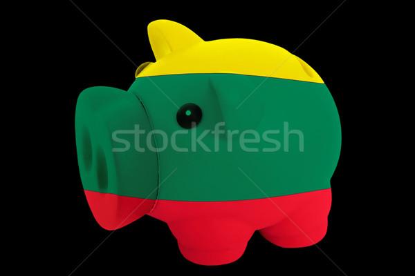 Malac gazdag bank színek zászló Litvánia Stock fotó © vepar5