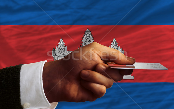 buying with credit card in cambodia Stock photo © vepar5