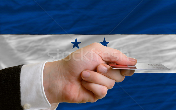 buying with credit card in honduras Stock photo © vepar5