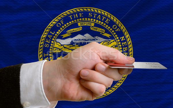 buying with credit card in us state of nebraska Stock photo © vepar5