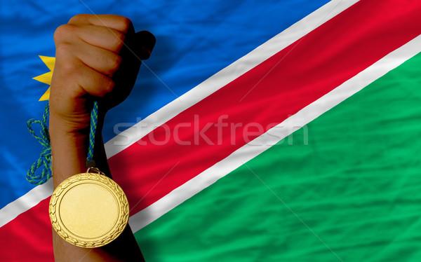 спорт флаг Намибия победителем Сток-фото © vepar5