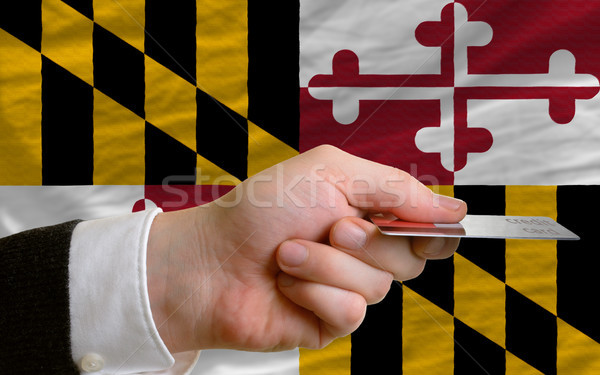 buying with credit card in us state of maryland Stock photo © vepar5