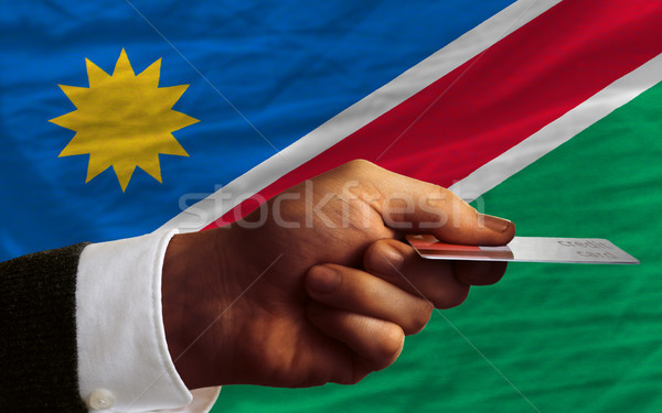 buying with credit card in namibia Stock photo © vepar5