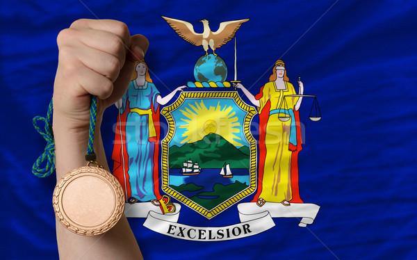 青銅 金メダル スポーツ フラグ アメリカン ニューヨーク ストックフォト © vepar5