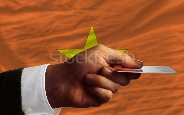 buying with credit card in vietnam Stock photo © vepar5