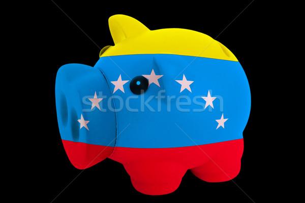 Rico banco cores bandeira americano Foto stock © vepar5
