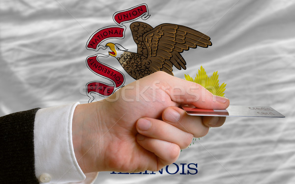 buying with credit card in us state of illinois Stock photo © vepar5
