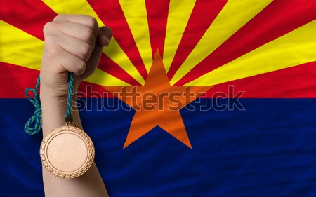 Stockfoto: Recessie · jonge · man · samenleving · Arizona · arme · man