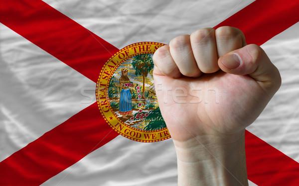 Bandeira Flórida punho americano inteiro Foto stock © vepar5