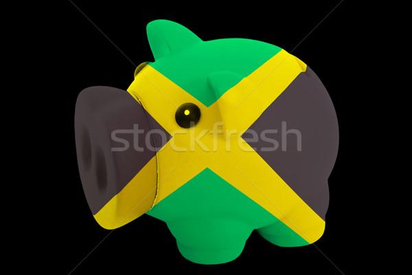 Ricos banco colores bandera Jamaica Foto stock © vepar5