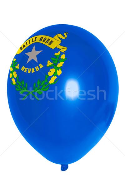 Balon renkli bayrak amerikan Nevada mutlu Stok fotoğraf © vepar5