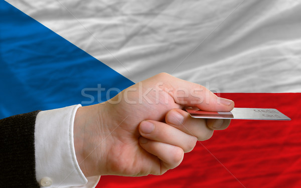 buying with credit card in czech Stock photo © vepar5