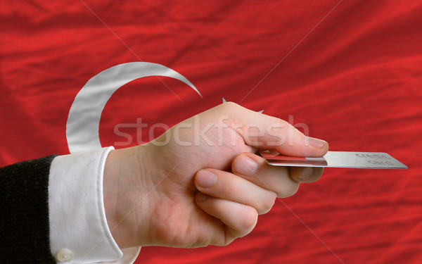 buying with credit card in turkey Stock photo © vepar5