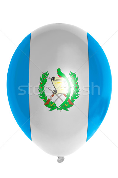 Balloon colored in  national flag of guatemala    Stock photo © vepar5