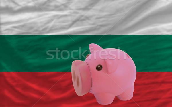 богатых банка флаг Болгария Сток-фото © vepar5