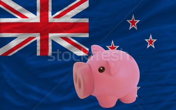 豊富な 銀行 フラグ ニュージーランド ストックフォト © vepar5