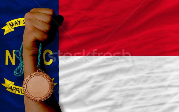 青銅 金メダル スポーツ フラグ アメリカン 北 ストックフォト © vepar5