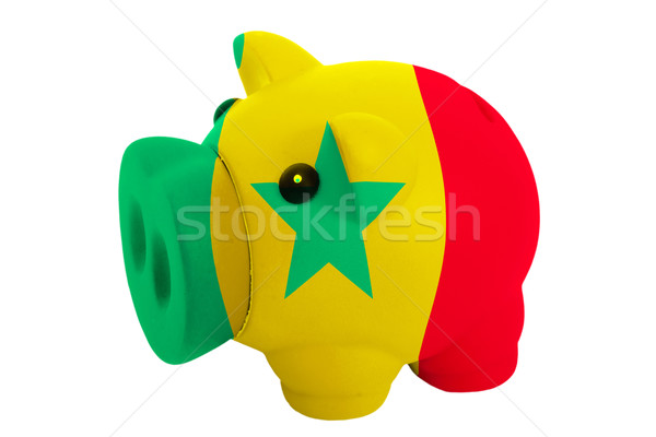 Malac gazdag bank színek zászló Szenegál Stock fotó © vepar5