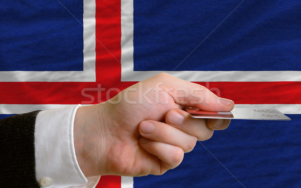 buying with credit card in iceland Stock photo © vepar5