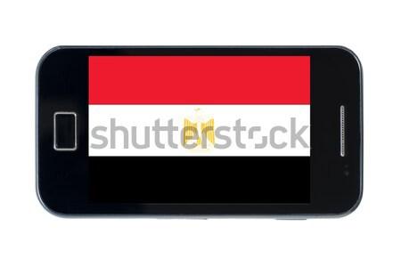 Bandeira Tajiquistão telefone telefone móvel Foto stock © vepar5
