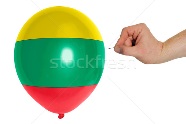 バルーン フラグ リトアニア 政治 破壊 ストックフォト © vepar5