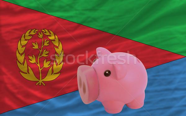 богатых банка флаг Эритрея Сток-фото © vepar5