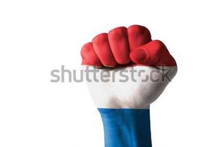 Puno pintado colores Armenia bandera bajo Foto stock © vepar5