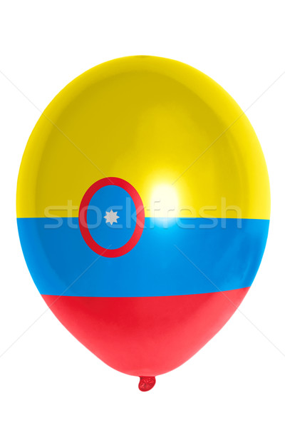 Balloon colored in  national flag of columbia    Stock photo © vepar5