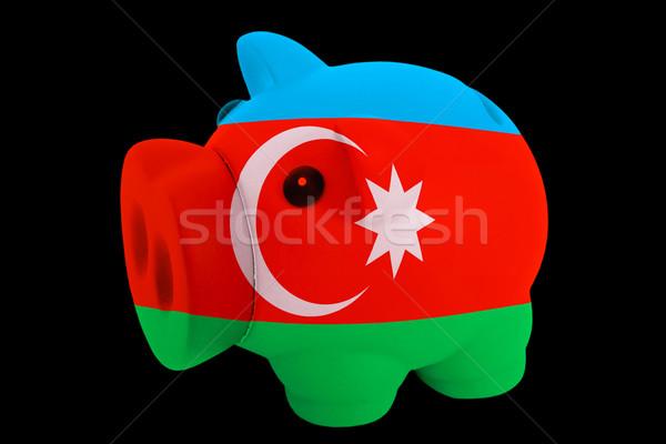 Riche banque couleurs pavillon Azerbaïdjan Photo stock © vepar5